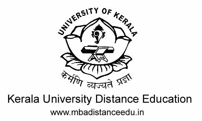 Kerala University Distance Education Admission Fee Structure