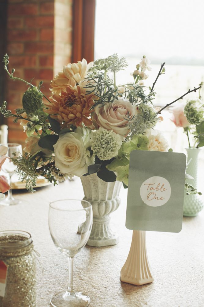 Image by Your Wedding Story Photography - Peach Wedding Inspiration From Top Essex Based Wedding…