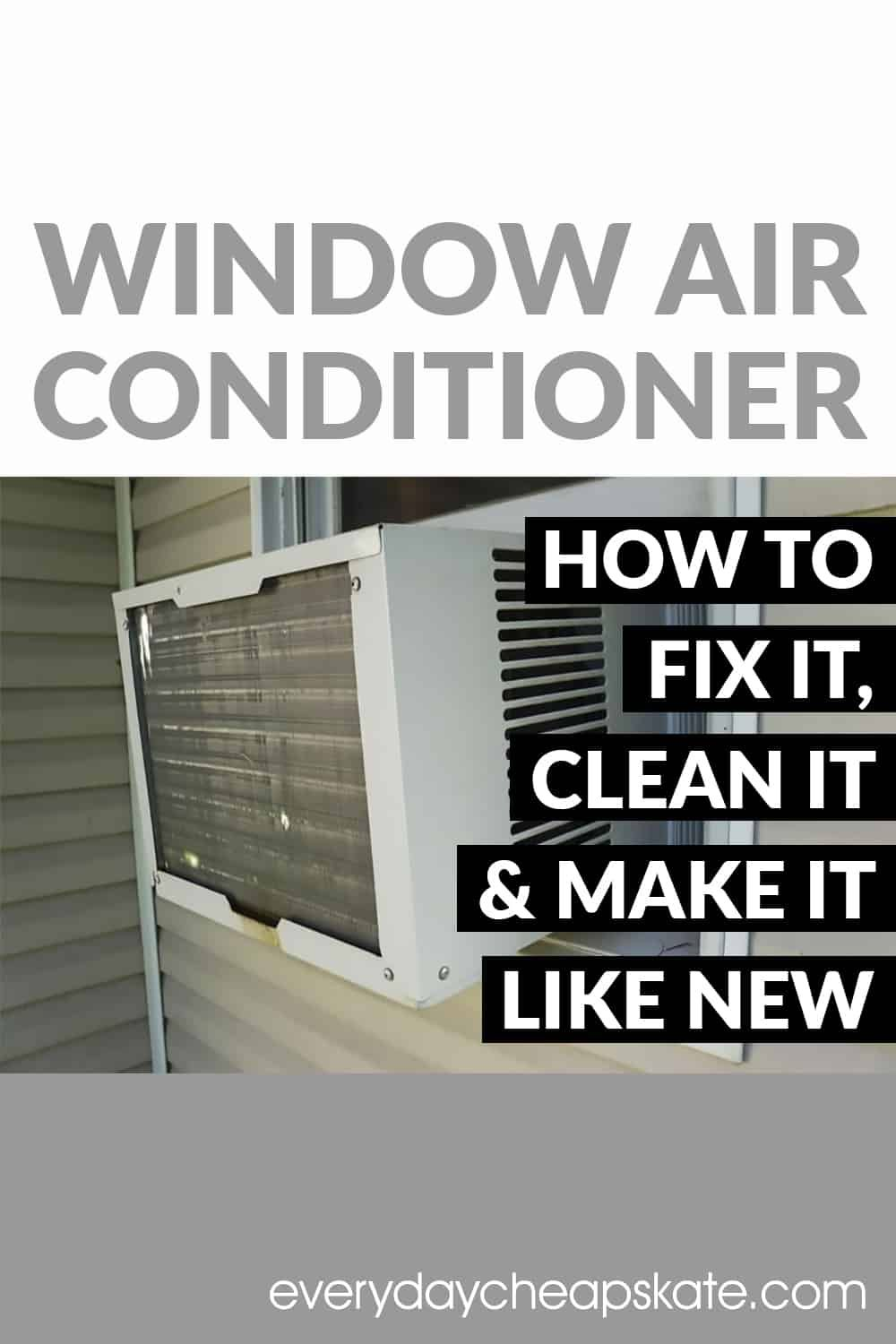 With The Heat Of Summer Still Bearing Down On Us Millions Of Window Mounted Air Cond Window Air Conditioner Window Unit Air Conditioners Clean Air Conditioner
