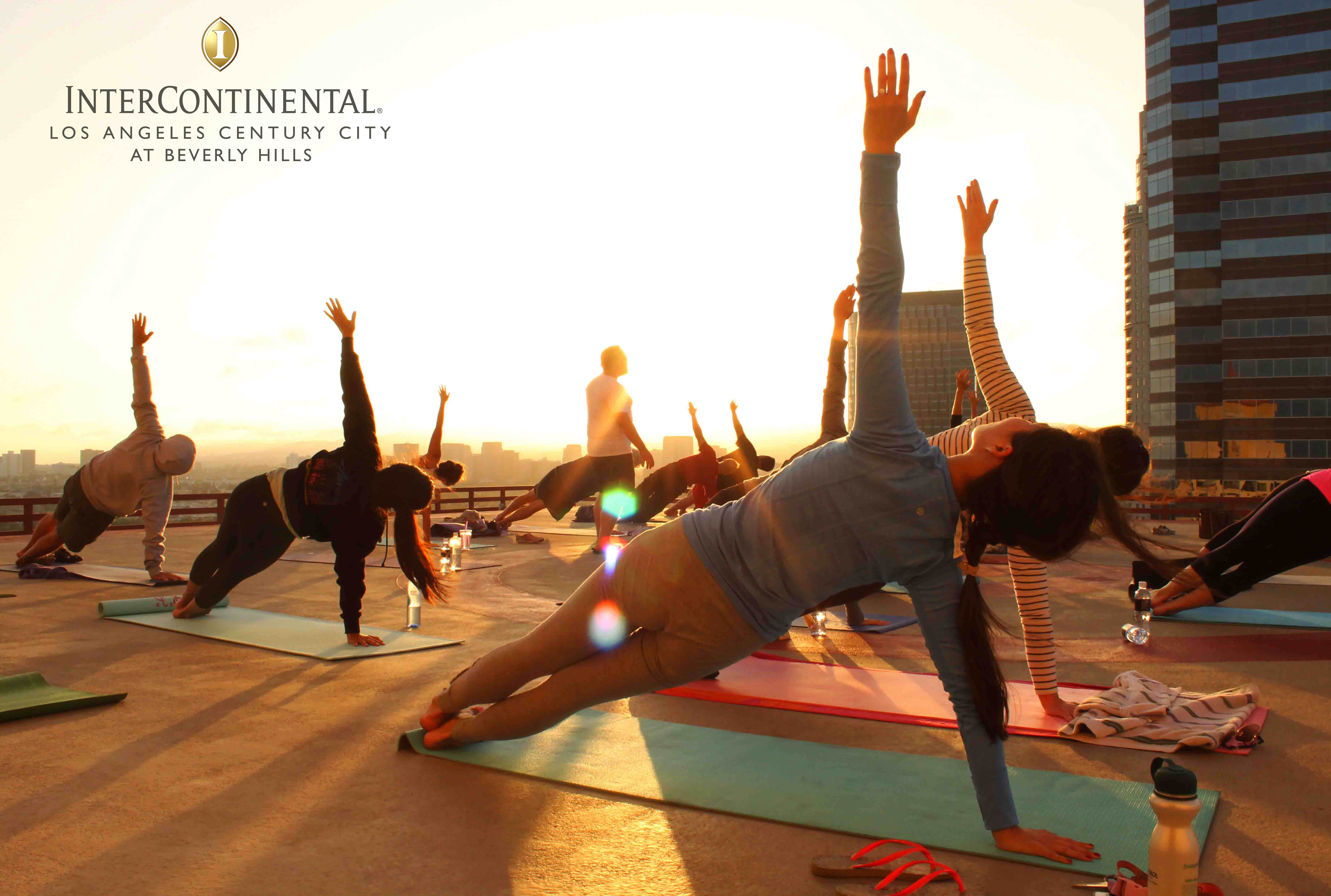 Join Us Atop Our 17th Floor Helipad For An Incredible Sunset Yoga Session At 6 30pm We Meet Again Thursday Morning Yoga Postures Hatha Yoga Postures Best Yoga