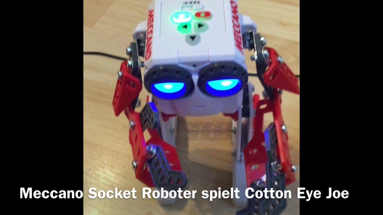 Abspielen von Musik auf dem Meccano Socket Roboter ...