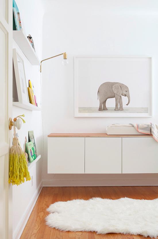 simple, gorgeous nursery