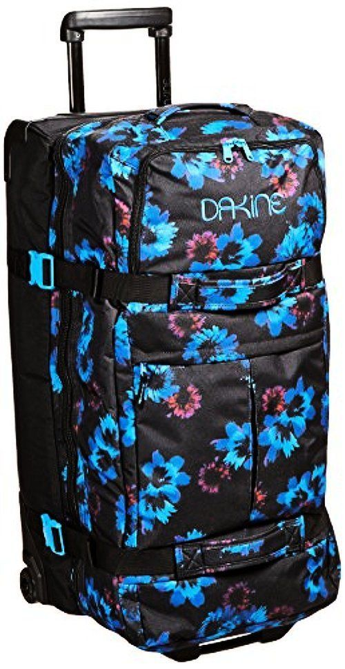9b2675ab0753b Dakine 8 8350155-Blue Flowers Womens Split Roller Bag
