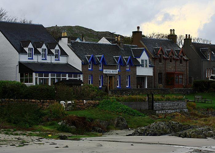 Argyll Hotel Iona Scotland