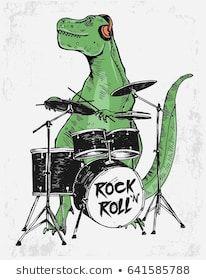 「スローガンのスケーター恐竜のベクターイラスト。Tシャツのプリントなどの用途。」のベクター画像素材(ロイヤリティフリー) 1321669814