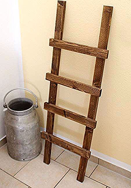 wooden staircase towel holder in 2018 #scala #wood #port …