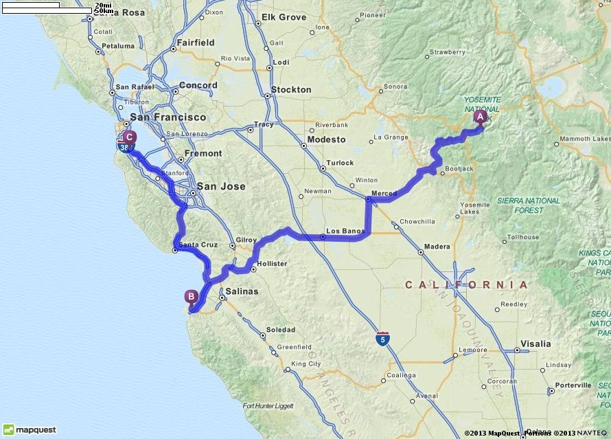 Driving Directions from Yosemite National Park in El Portal ... on map of national parks of america, map of slot canyons, map of big thicket, map of casey county, map of bx, map of burney falls, map of devil's postpile, map of united states, map of zephyr, map of willows, map of smokey mountains national park, map of ione, map of grand canyon, map of oc beaches, map of taft point, map of national parks in oregon, map of muir trail, map of crest, map of eldorado canyon, map of california,