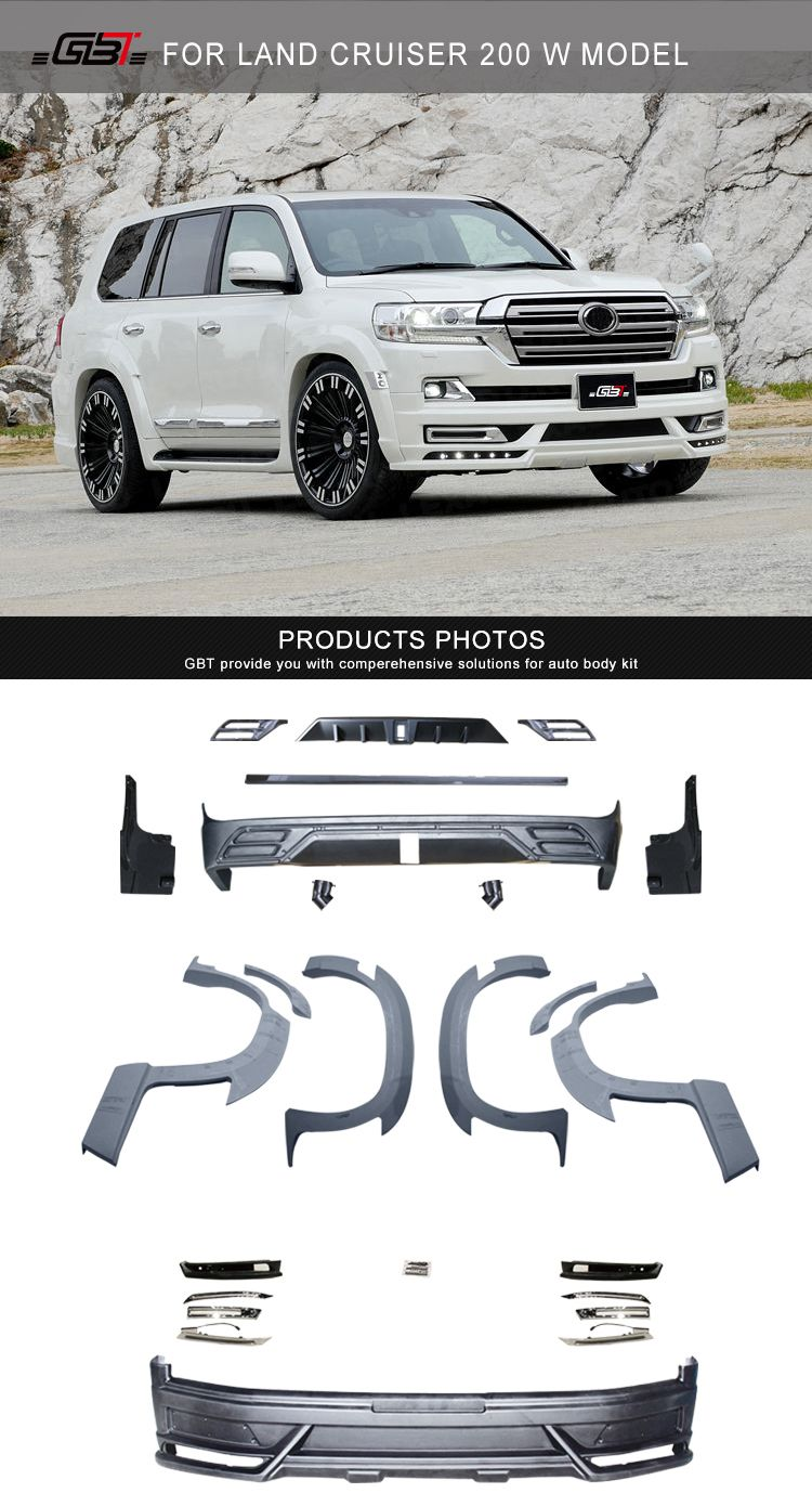 Gbt Body Kit For Land Cruiser200 W Model Body Kit Land Cruiser 200 Toyota Suv