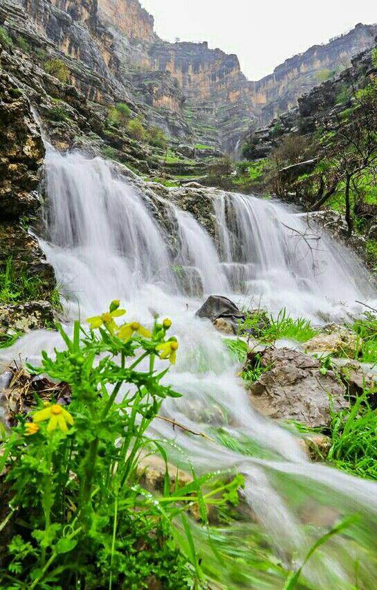 Waterfall Greens Nature Beautiful Places Nature Beautiful Nature Scenic Waterfall