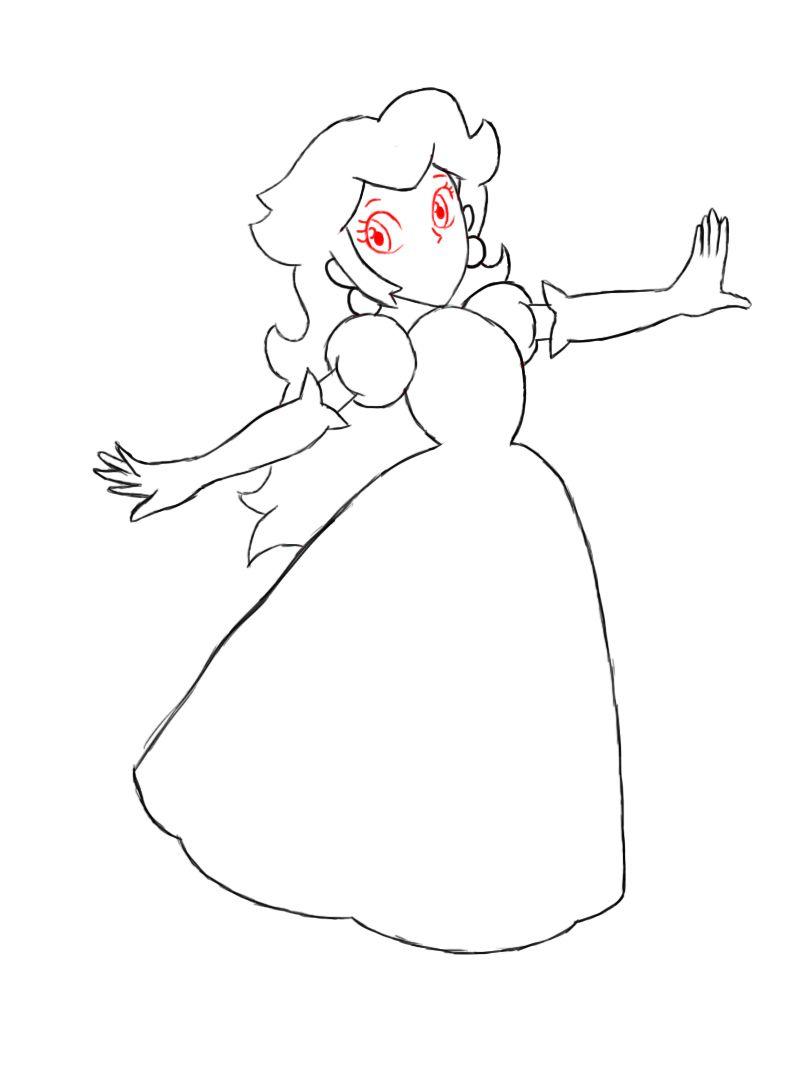 How to draw a princess 43