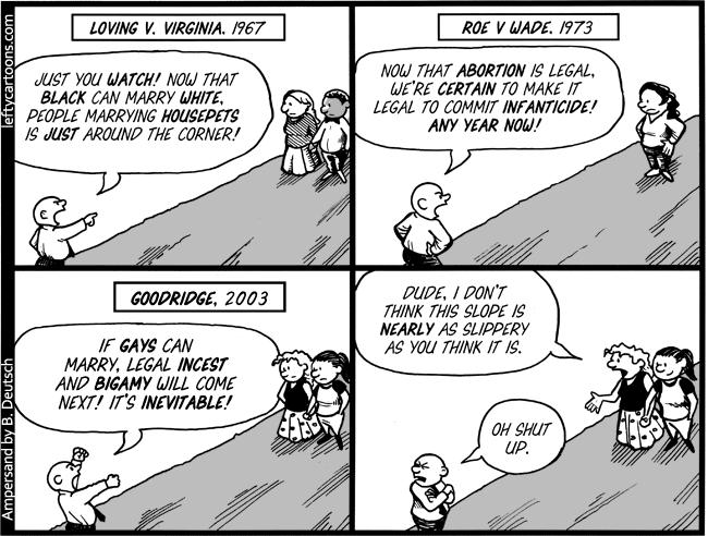Slippery Slope | Feminist  Atheist  | Loving v virginia