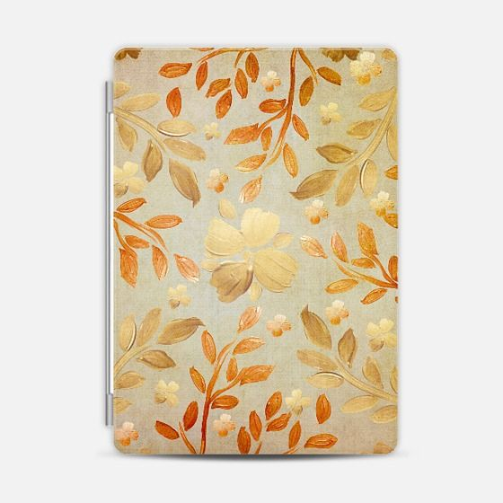 Golden Autumn iPad Case by Lisa Argyropoulos - get $10 off using code: H5E5FU #floral #Autumn #Fall #gold #golden #color #rust #rustic #iPad #case #cover #accessories #pretty #stylish #casetify #popular