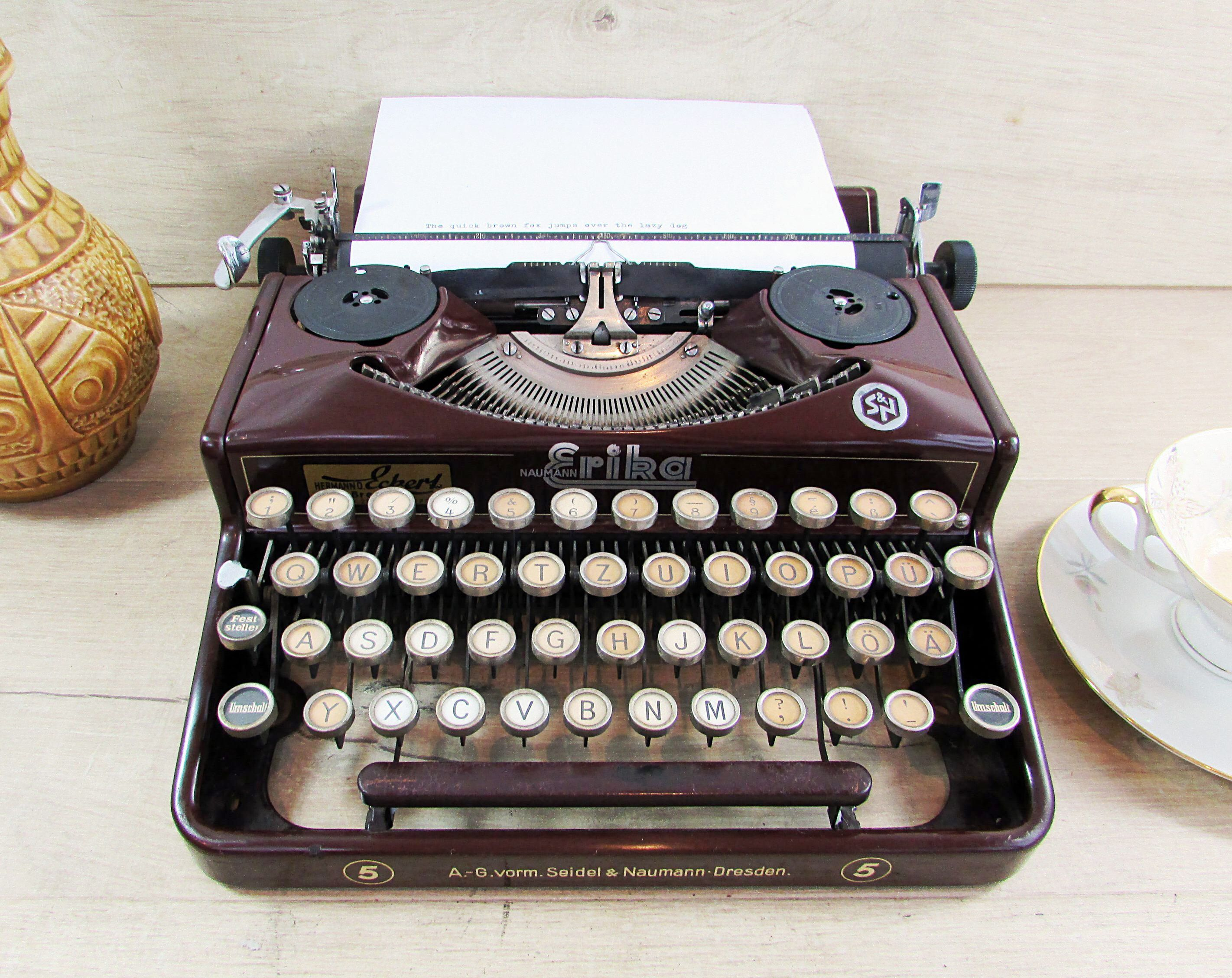 Working typewriter for sale