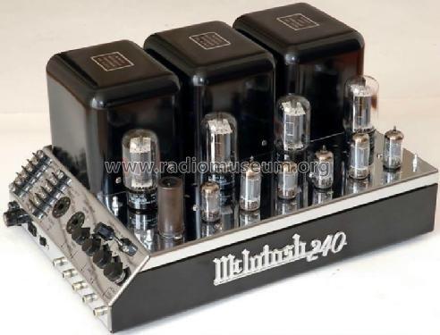 Mcintosh Audio Mc 240 Amplifier They Don T Build Them