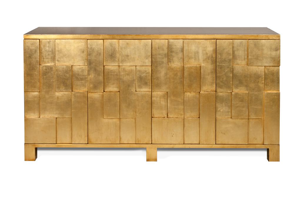 Credenzas Modernas En Espejo : Credenza primavera con vidrio el dorado galeria