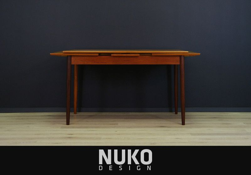 Vintage Tische   Mid Century TEAK Tisch SKANDINAVISCHES DESIGN   Ein  Designerstück Von NUKOdesign Bei