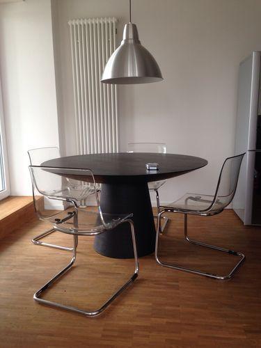 Design Tisch Mit 4 Ikea Stuhlen Tobias Esstisch Essgruppe In