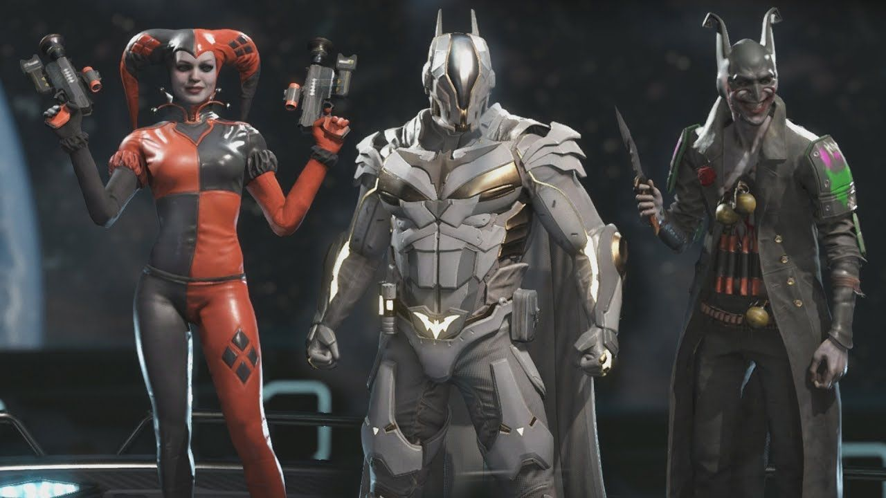 Injustice 2 All Epic Gear Sets All Character Epic Gear Sets 1080p 6 Injustice 2 Injustice Superhero