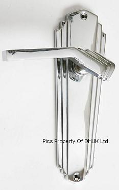 Art Deco | art deco door handles polished chrome please choose style ...