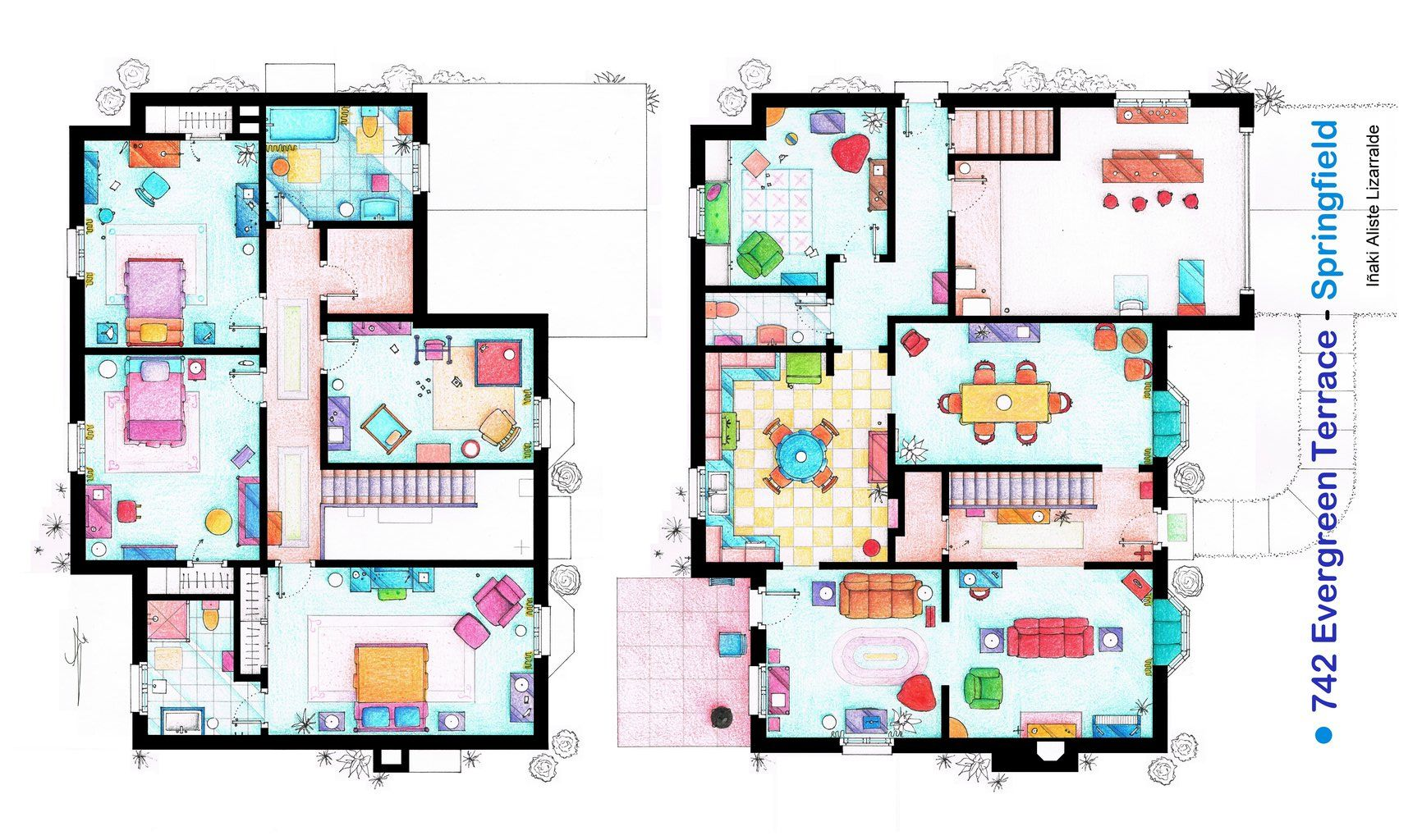 The simpsons house blueprint 03g 17321024 home is where the the simpsons house blueprint 03g 17321024 malvernweather Choice Image