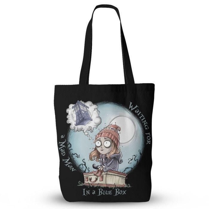 The Girl Who Waited - Tote Bag