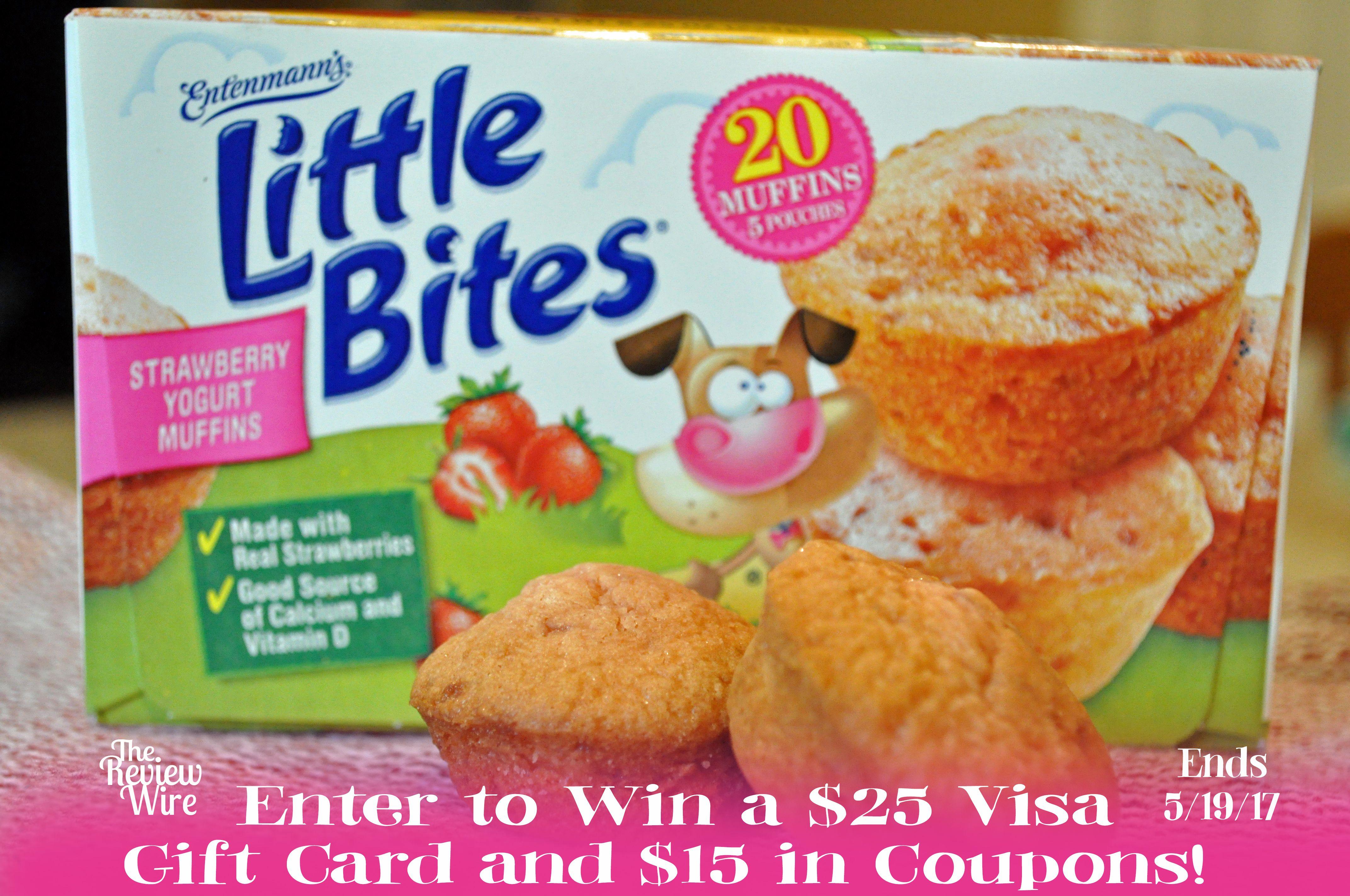 recipe: little bites strawberry yogurt muffins [27]