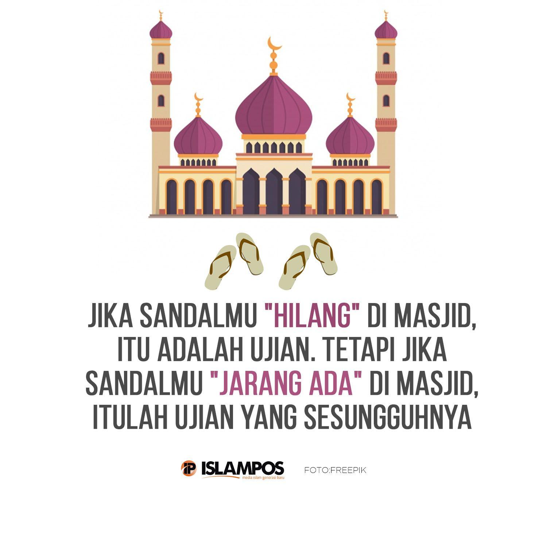 Jika Sandalmu Hilang di Masjid Sandal