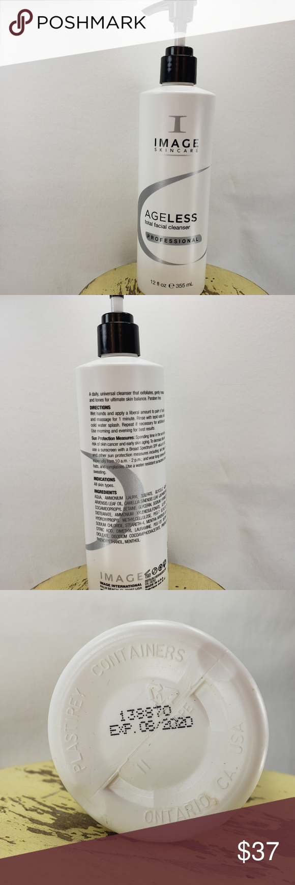 Image Skincare Ageless Total Facial Cleanser 12 Oz Boutique In 2018