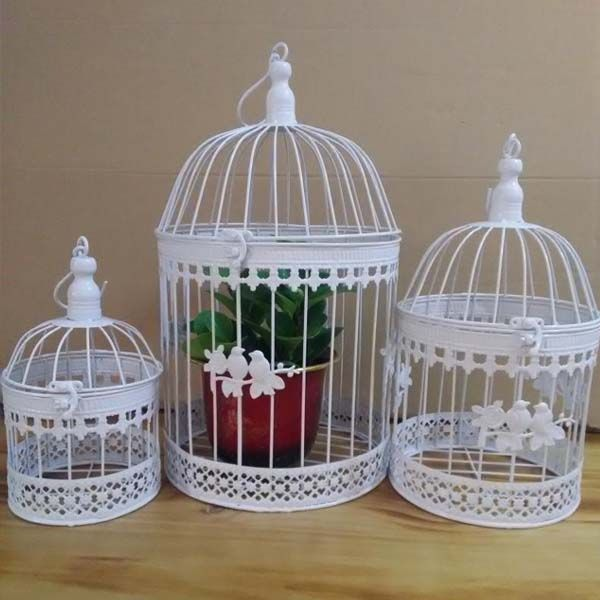 Iron Bird Cage Wall Birdcage Flower Decoration Fashion Classic Iron Bird Cage Decorative Bird Cages Wedding Affiliate Bird Cage Decor Flower Decorations Decor