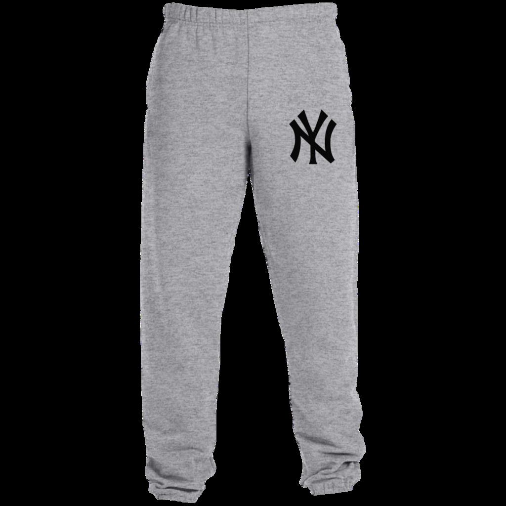 Delta Sigma Drawstring Waist,100/% Cotton,Elastic Waist Cuffed,Jogger Sweatpants Black