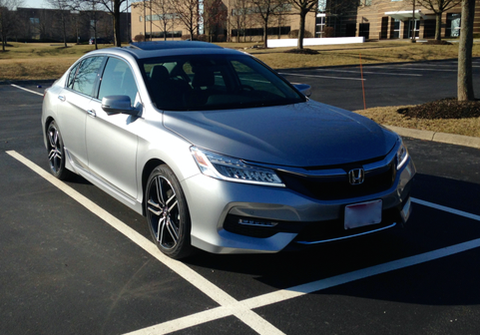 2016 Accord Touring Lunar Silver With Sport Grille 2016 Honda