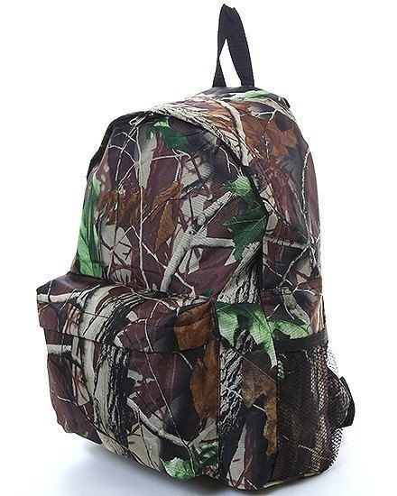 monogram large real tree camo backpack -Personalized Camo Backpack ...