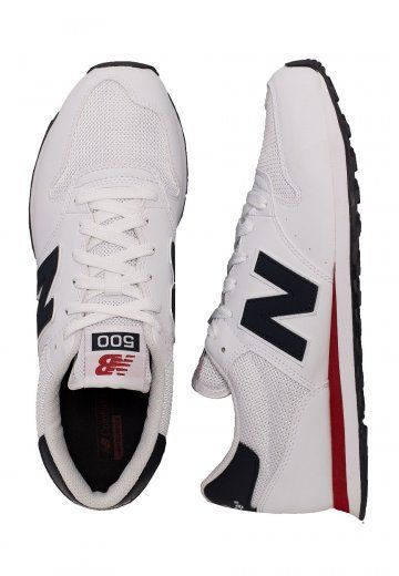 New Balance - GM500 D SWB White - Shoes | New balance shoes men ...