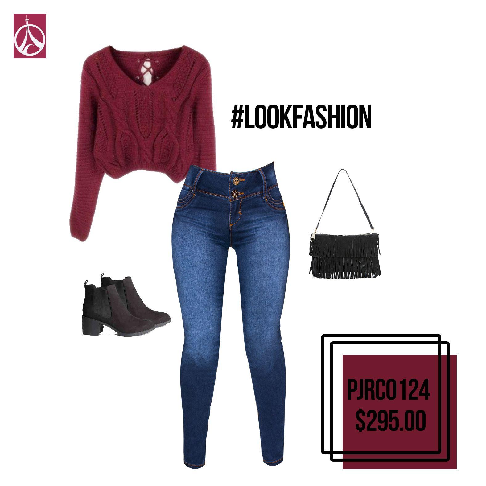 No pierdas el estilo por los días lluviosos, luce muy fashion con un outfit como este. #Moda #Outfit  #Mujer #Estilo www.paris-jeans.com