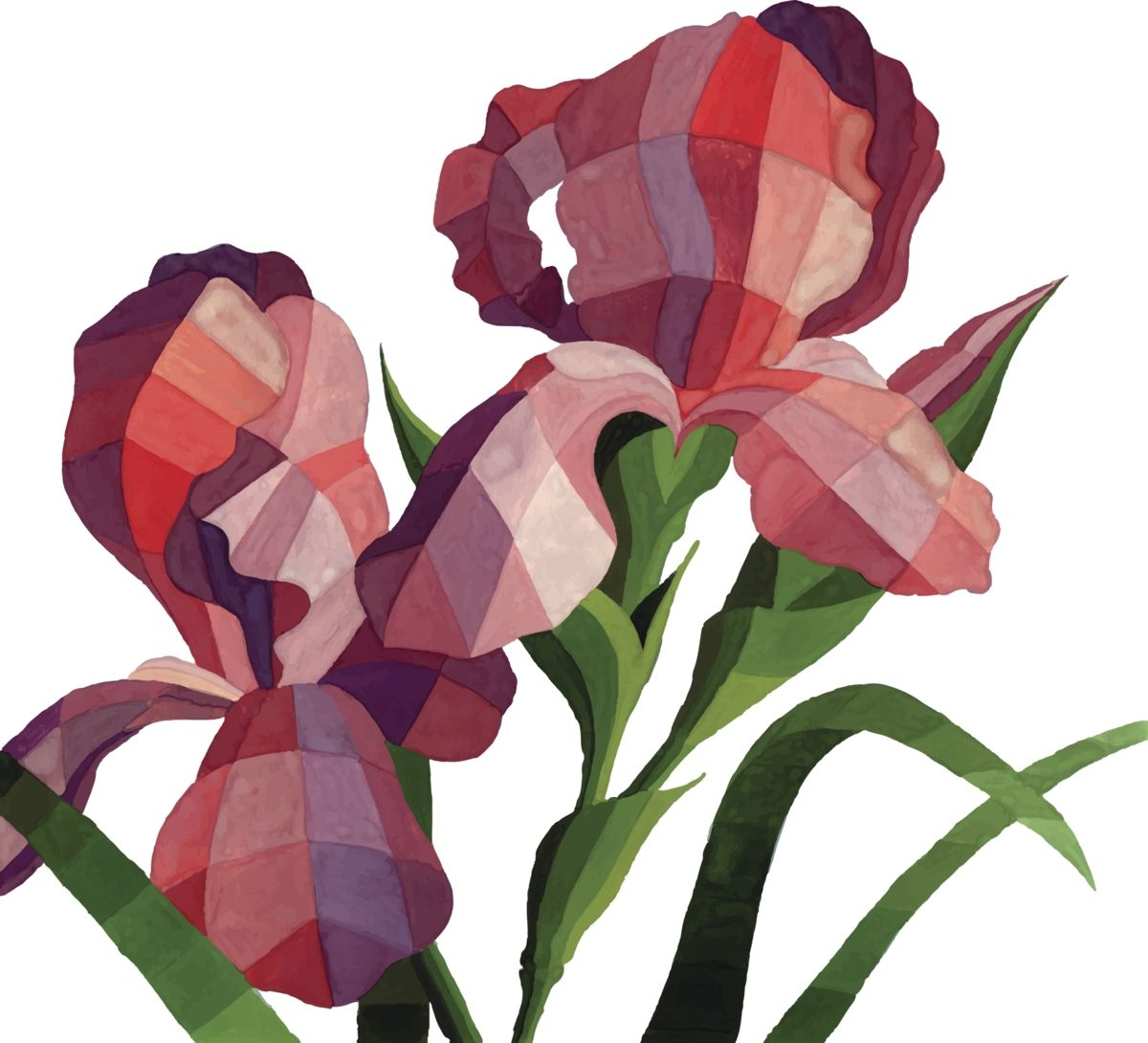 Red Iris Tattoos Pinterest Flower Tattoos Iris And Iris Tattoo
