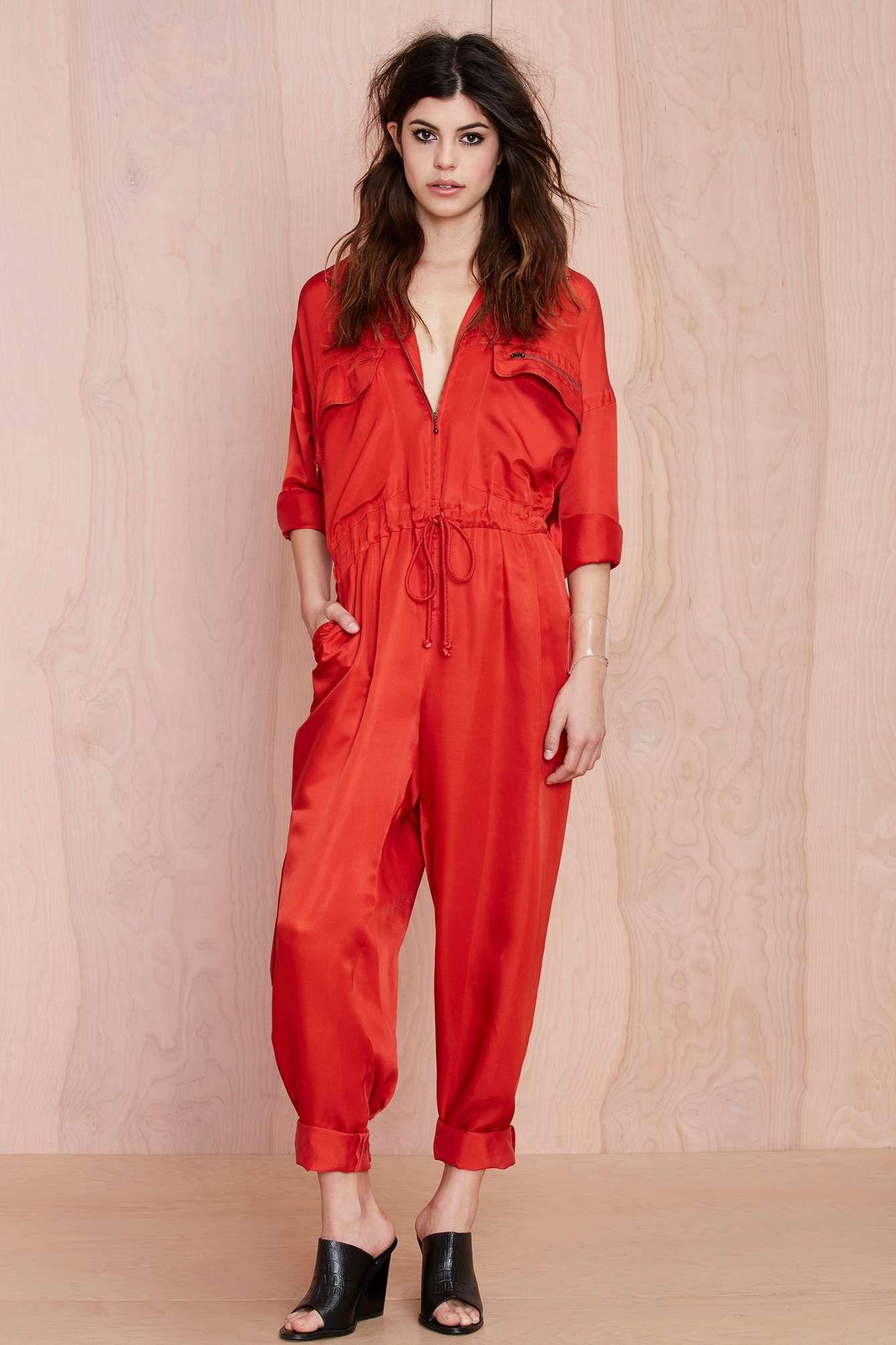 2331f7bb148 Vintage Blazin  Silk Jumpsuit