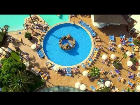 vista aerea de hotel - YouTube