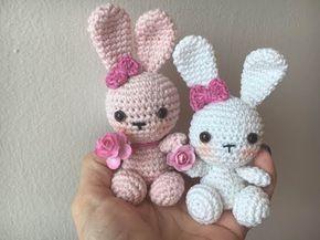 Amigurumi Rabbit Tutorial : Amigurumi rabbit crochet tutorial youtube t