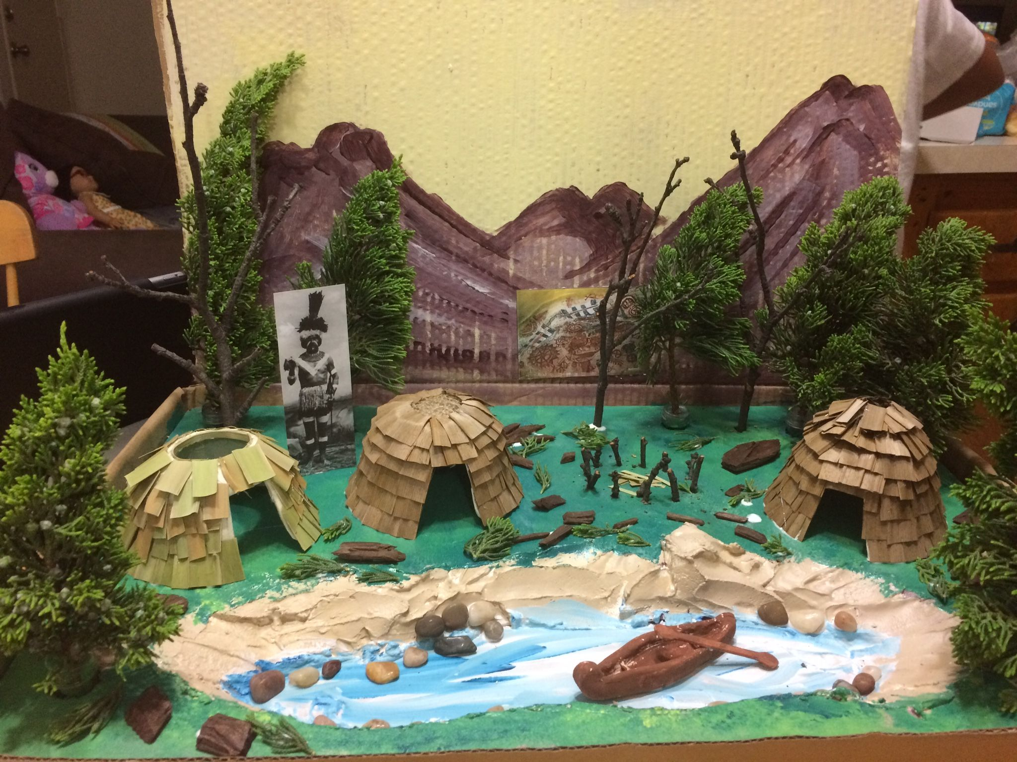 School Project Chumash Village
