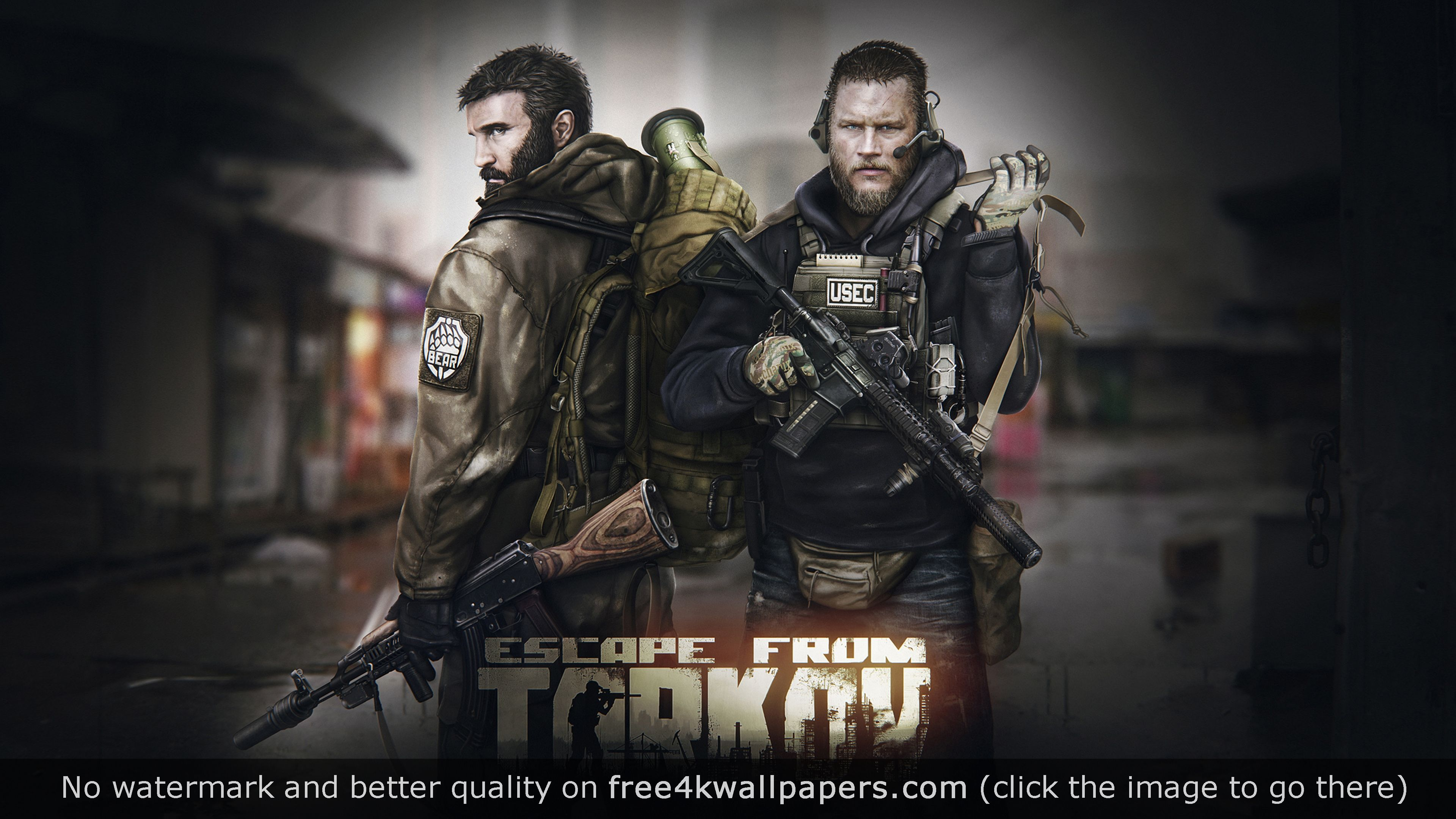Escape From Tarkov 4K Game 4K wallpaper | Desktop Wallpapers