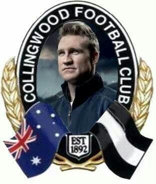 Nathan Buckley Collingwood Football Club Football Club Football Team