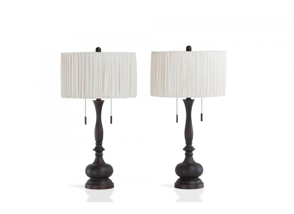 Pull Chain Table Lamp Set Of 2 Colombo Lamps  Rustic Luxe Lamp Sets And Bedrooms