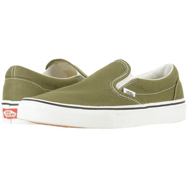 Vans Classic Slip-On (Winter Moss/True