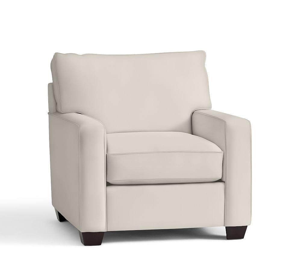 Buchanan SquareArm Upholstered Armchair Upholstered