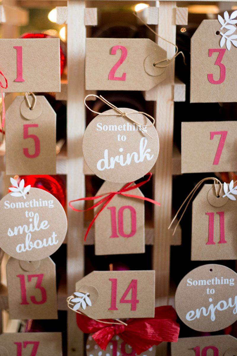 Oh What Fun Diy Wine Advent Calendar Discover A Blog By World