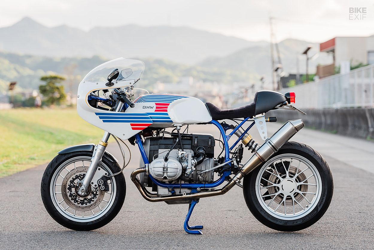 The Limits Of Endurance A Bmw R80 With Ducati Flair Bike Exif Bmw Ducati Bike Exif