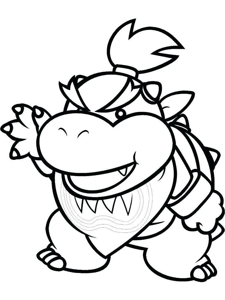 Super Mario Coloring Page Best Of Photos Mario Bros Bowser
