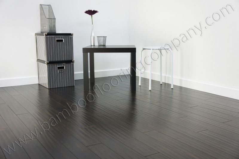 Almost black bamboo floors  Theres No Place Like Home