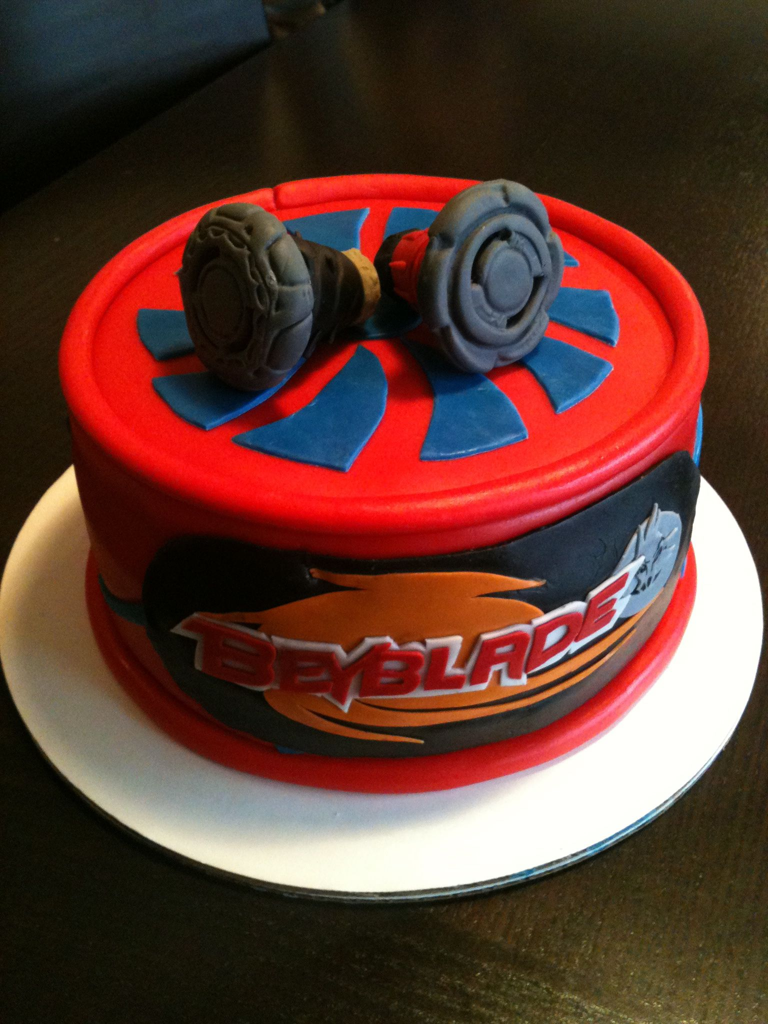 Beyblade Cake Don T Let It Rip Please They Are Edible