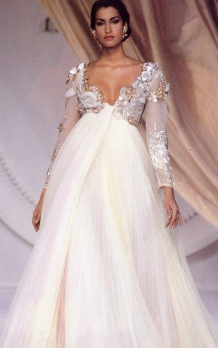 Christian Dior Spring Summer 1991 Seems timeless to me--not 10 years ago.